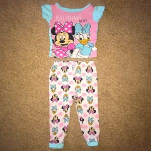 Disney Minnie Mouse 3T girls pajama set